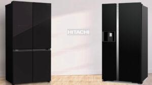 Сравнение холодильников Hitachi: вакуумного R-WB720VUC0GBK и side-by-side R-S700GPUC2GBK